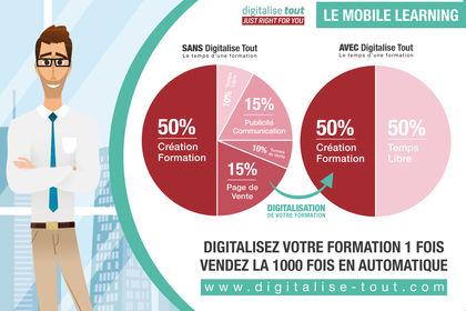 Infographie pour Digitalise Tout
