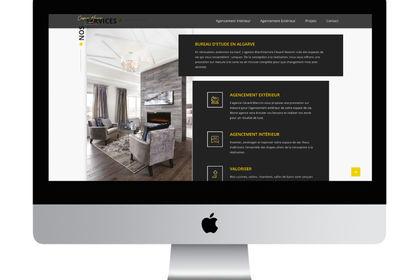Webdesign pour Cesare Mancini