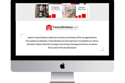 Webdesign Travaux Bordeaux