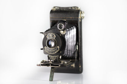 Packshot appareil argentique
