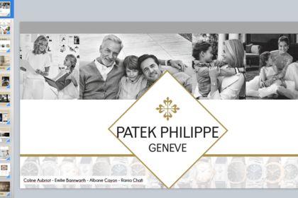 Présentation PowerPoint Patek PHILIPPE