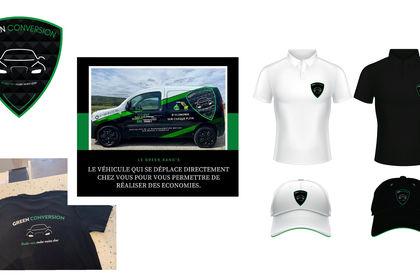 Logotype et visuel textile