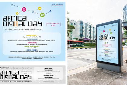 Réalisation affiche festival digital