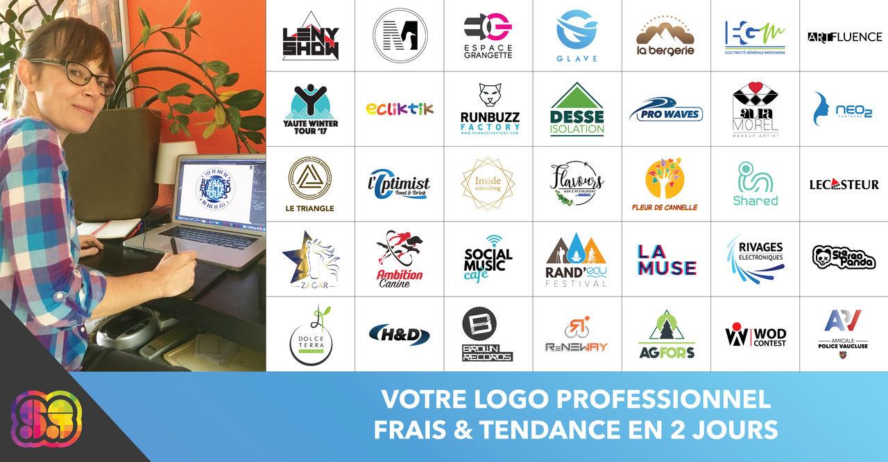 Réalisation de logos professionnels