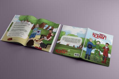 Direction artistique livre enfant