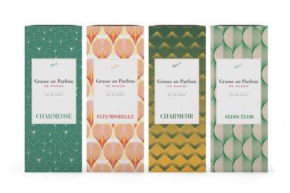 Packaging pour une gamme de parfum