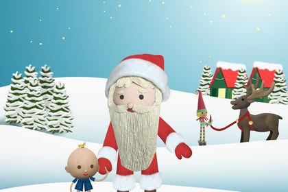 Lulu et le Père Noël