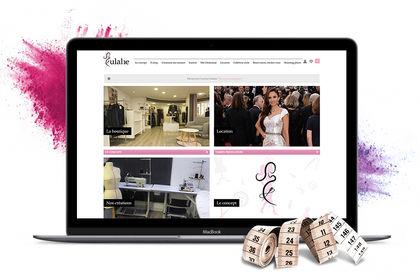 Création site e-commerce Eulalie