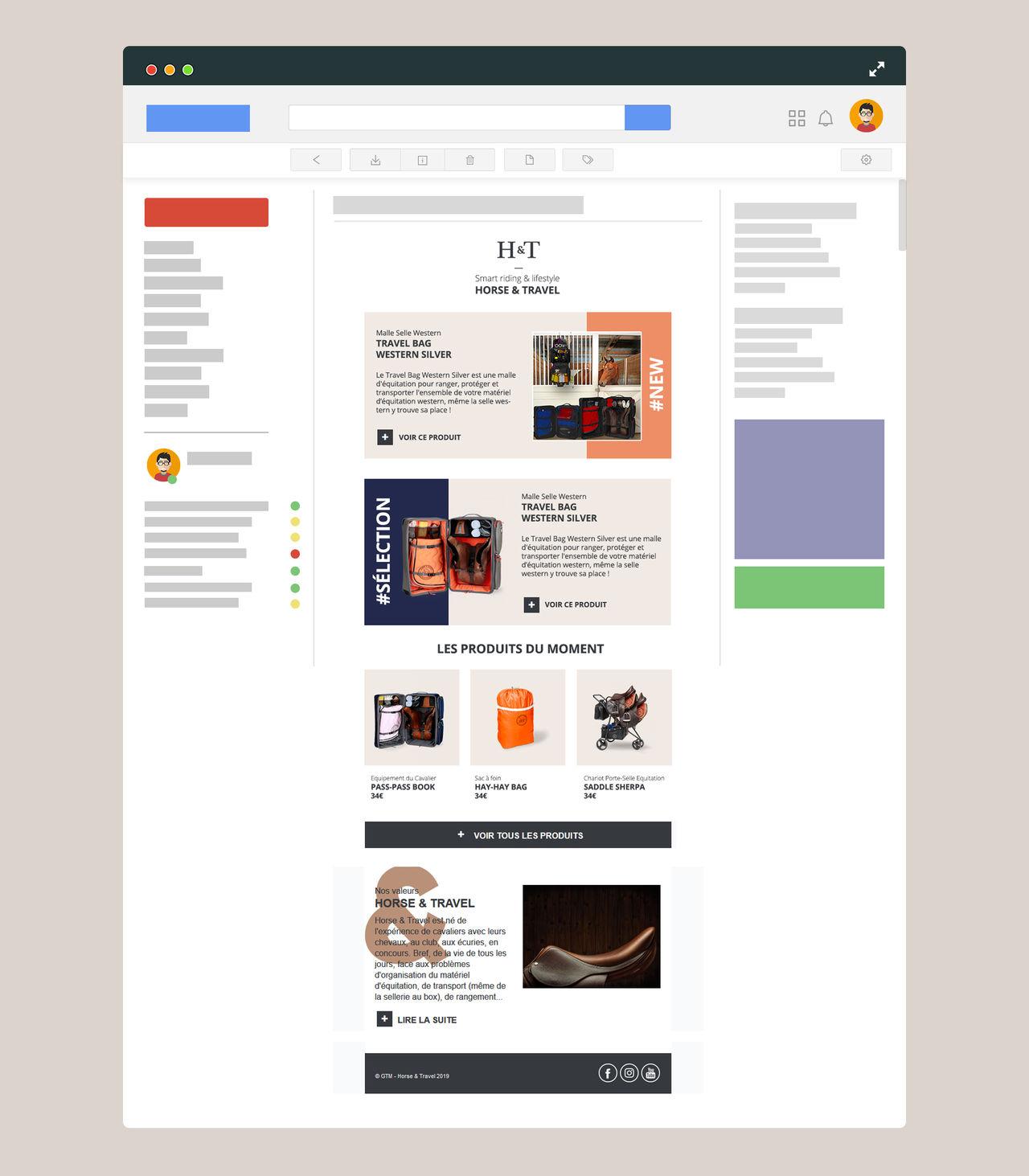 Création et intégration emailing