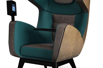 Visuel 3D d'un fauteuil musical