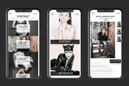UX/UI Design mobile