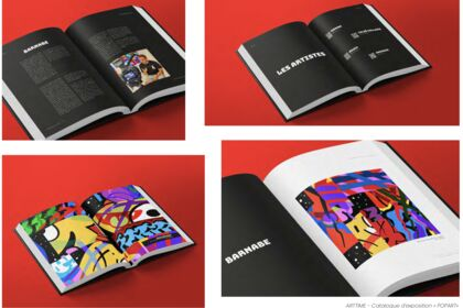 Catalogue - exposition POP ART