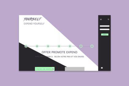 Particulart concept website