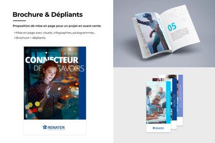 Brochure et Dépliants