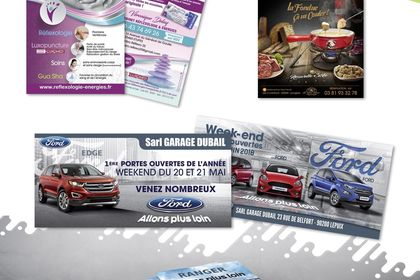 FLYER/AFFICHE/DEPLIANT CREATIONS STUDIO PIXEL INK