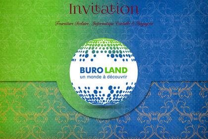 Carte d'invitation pour une inauguration RECTO