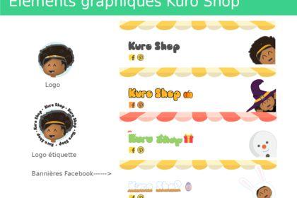 Bannière Facebook Kuro Shop