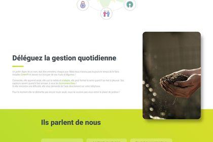 Web - Landing page GreenPi