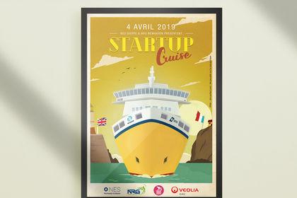 Affiche - Startup Cruise