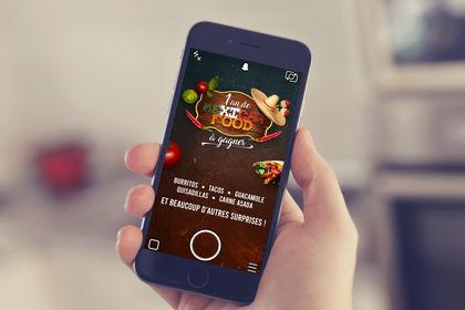 Concours - Web mobile mexicain pour snapchat
