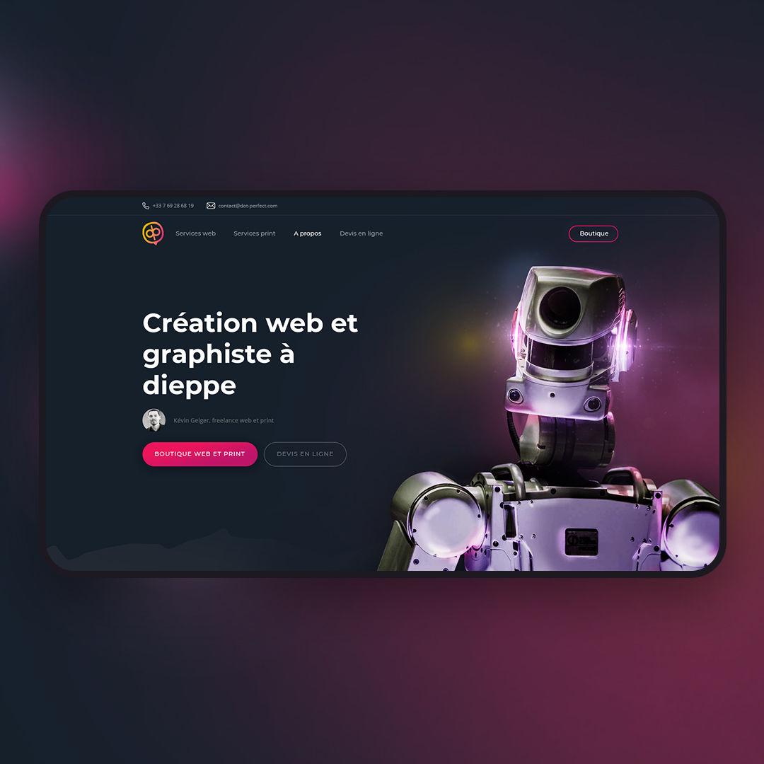 Web design futur portfolio