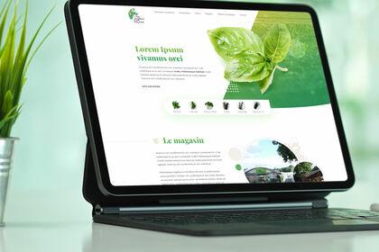 Webdesign - Jardins d'Oron