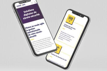Application mobile - Cavas Xpert