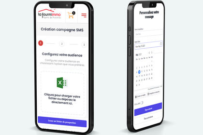 Application mobile - ux sms