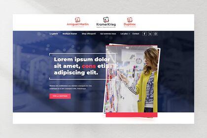 Webdesign UX/UI papeterie