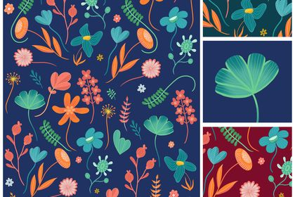 Pattern Floral #1