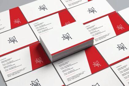 "Cartes de visites ""MBR Publications Ltd"""