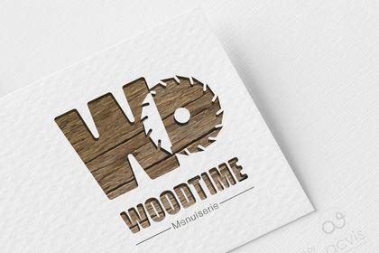 Logo WoodTime Menuiserie