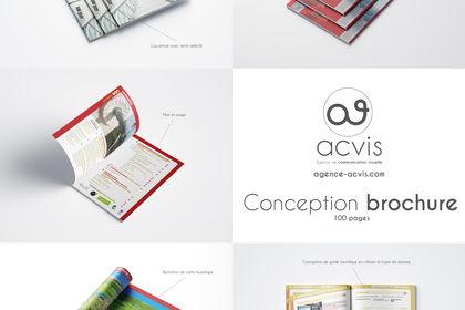 Conception Brochure Office de Tourisme