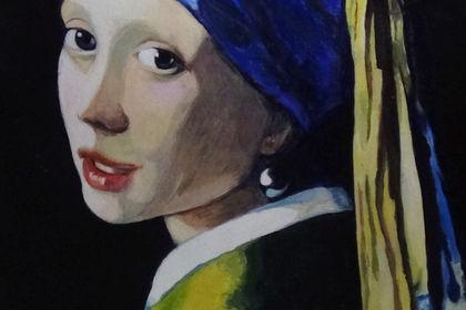 Portrait, Peinture, Reproduction