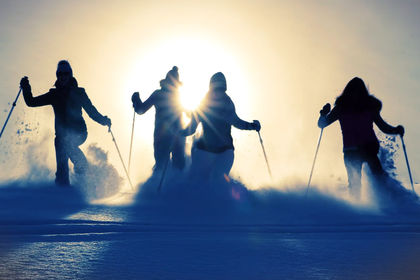 Vidéo promotion de station de ski