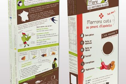 Packaging carton alimentaire