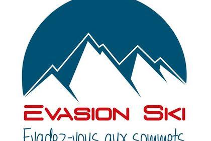 Logo pour évasion ski
