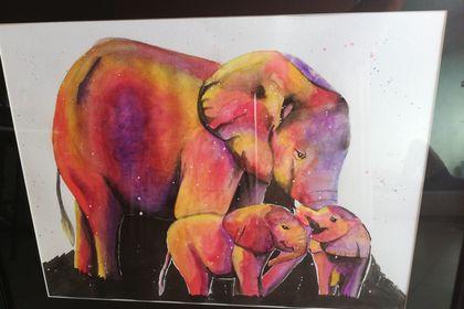 Réalisation éléphants du couchant