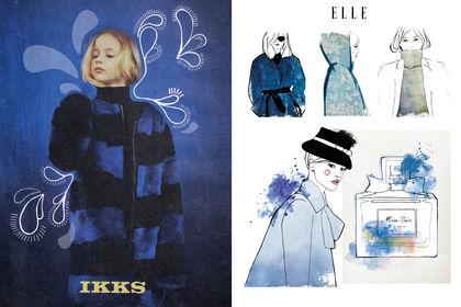 Illustration IKKS-ELLE-DIOR