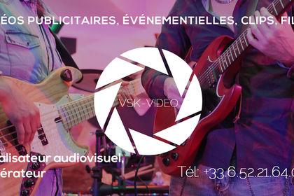 """Concert """"Garage 67""""  Réalisateur audiovisuel"""