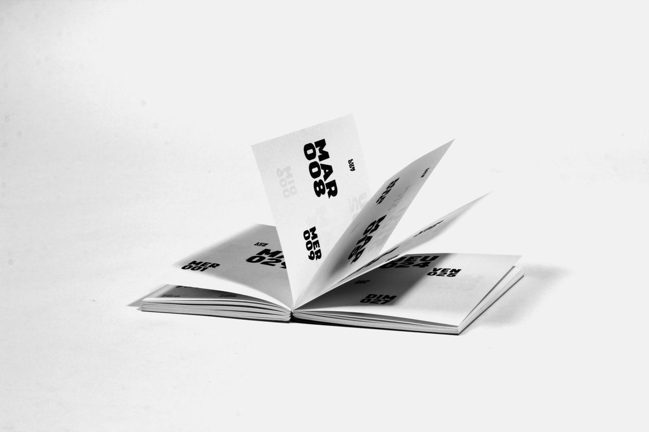 Agenda typographique