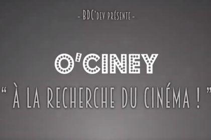 Publicité pour l'application O'Ciney