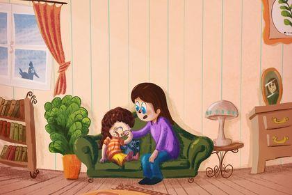 Livre pour enfant 'mimi souris'