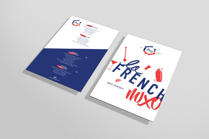 Carte cocktail La French Mixo