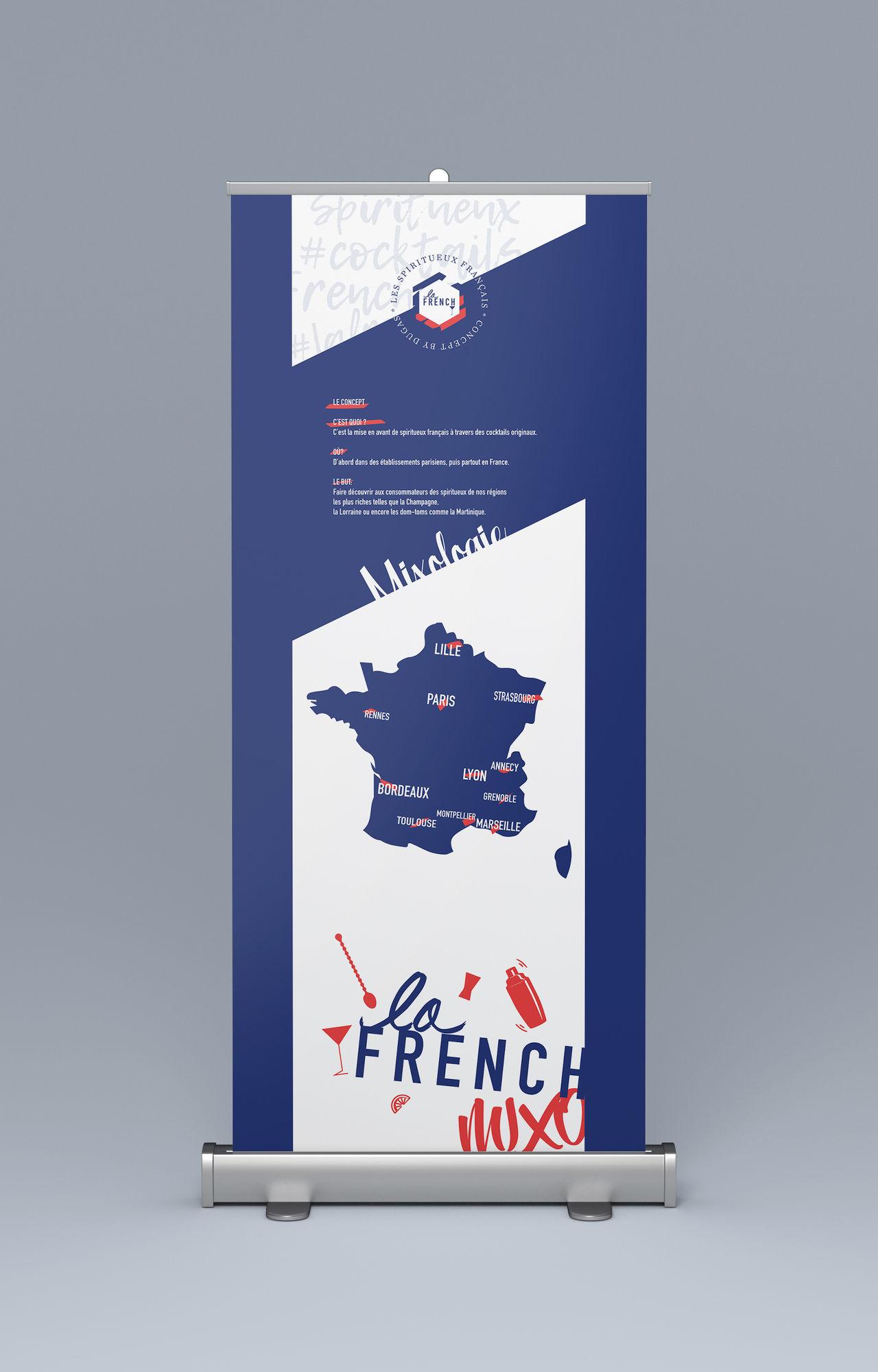 Roll-up La French Mixo