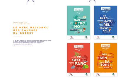 Affiches, Parc National des Causses du Quercy