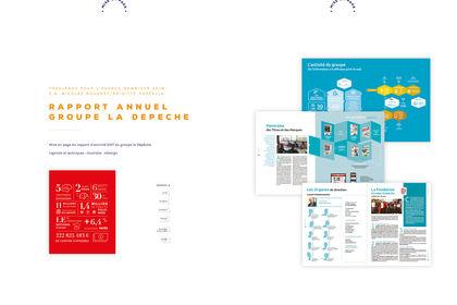 Rapport annuel groupe la Dépêche