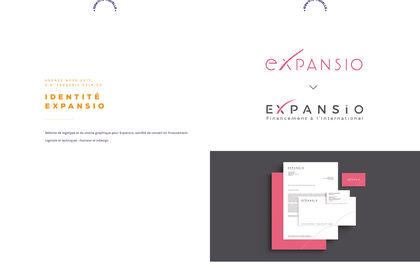 Identité de marque Expansio