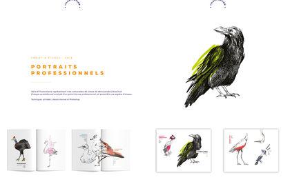 Illustrations, projet d'études