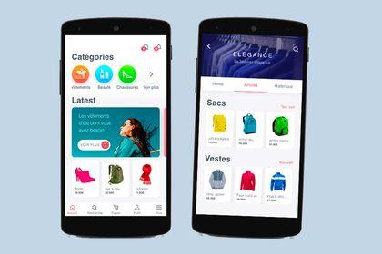 Conception UX/UI d'app mobile